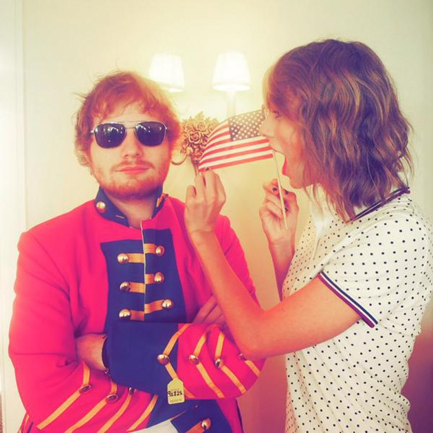 ed sheeran and taylor swift - photo #21