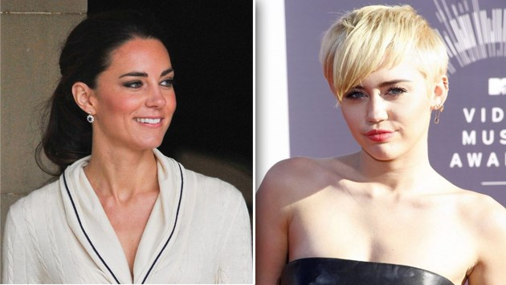 Kate-Middleton-Miley-Cyrus