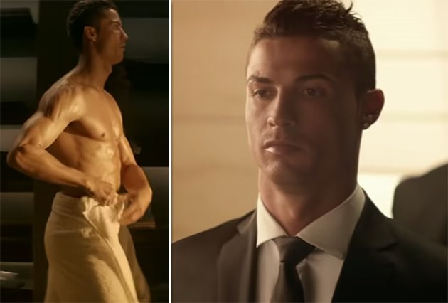 cristiano ronaldo so sexy pr sentiert er sein parf m legacy video promicabana. Black Bedroom Furniture Sets. Home Design Ideas