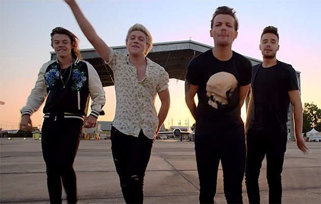 One-Direction-Drag-Me-Down-Musikvideo