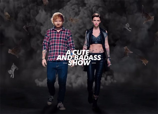 Ed-Sheeran-Ruby-Rose-MTV-EMA