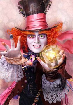 Alice-Through-the-Looking-Glass-Johnny-Depp-Hutmacher-250x358