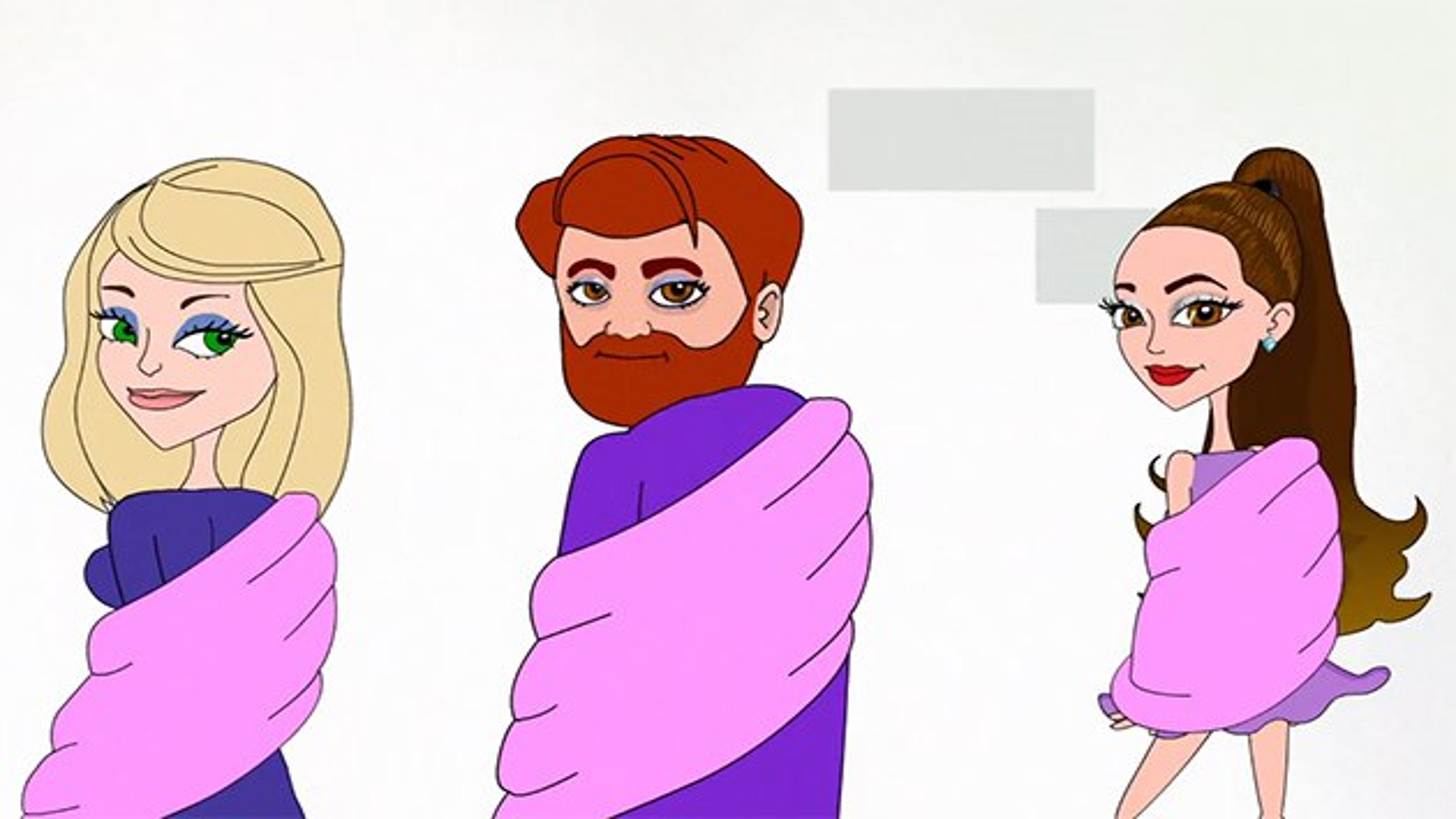 Meghan-Trainor-Ariana-Grande-Boys-Like-You-Musikvideo-Who-is-Fancy