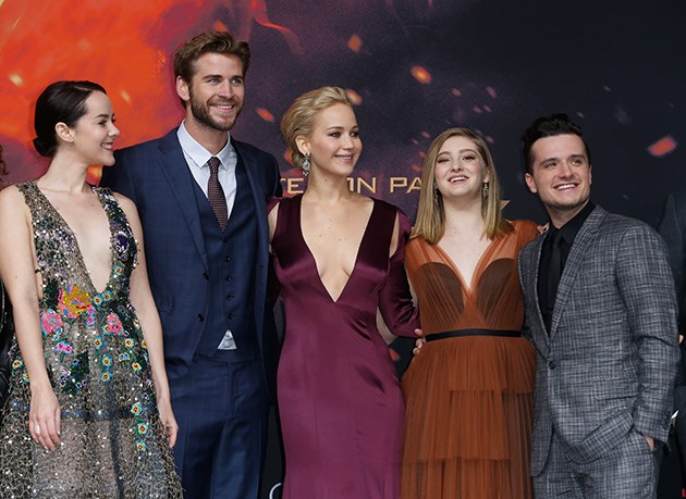 Mockingjay-2-Cast-Weltpremiere