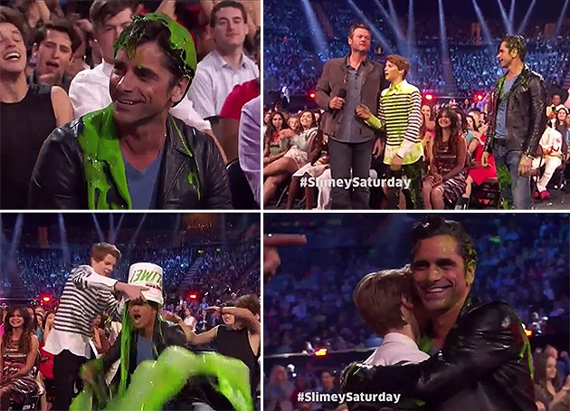 John-Stamos-Kids-Choice-Awards-2016-Schleim