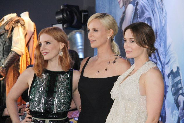 Jessica-Chastain-Charlize-Theron-Emily-Blunt