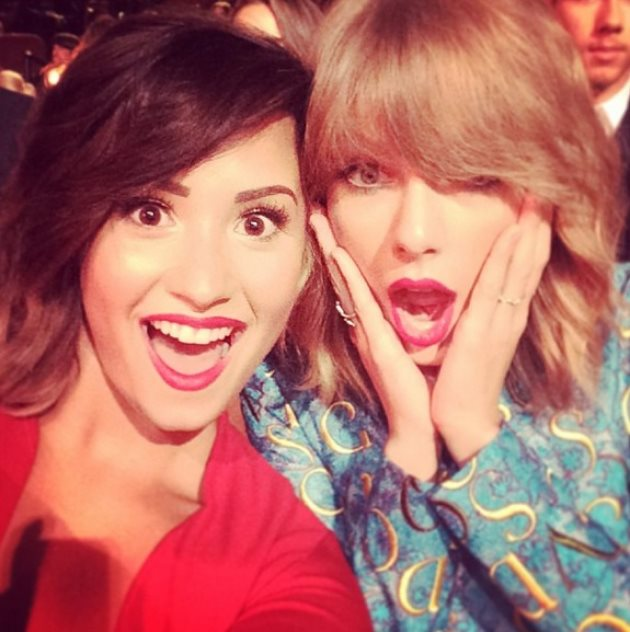 Demi-Lovato-Taylor-Swift