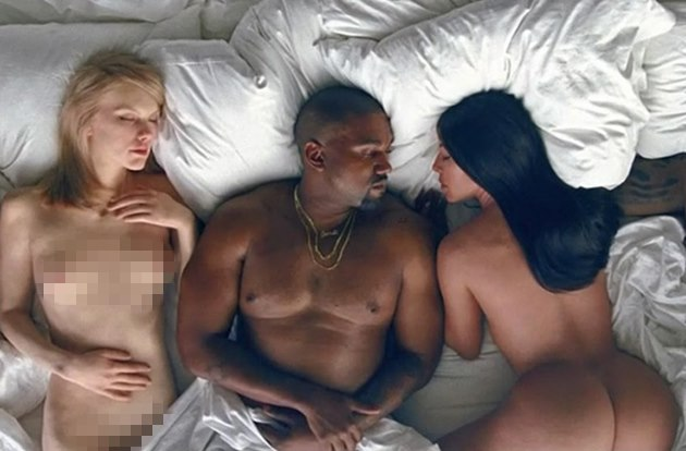 Kanye-West-Famous-Musikvideo-Taylor-Swift-Kim-Kardashian