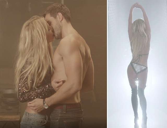 Britney-Spears-Make-Me-Musikvideo-Sexy-Kuss