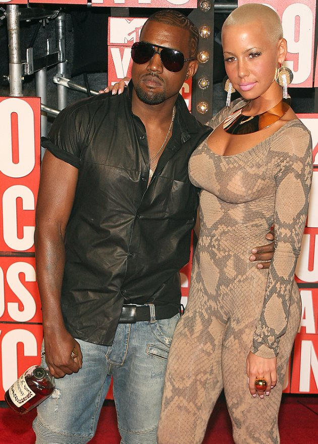 Rose west and pics kanye amber