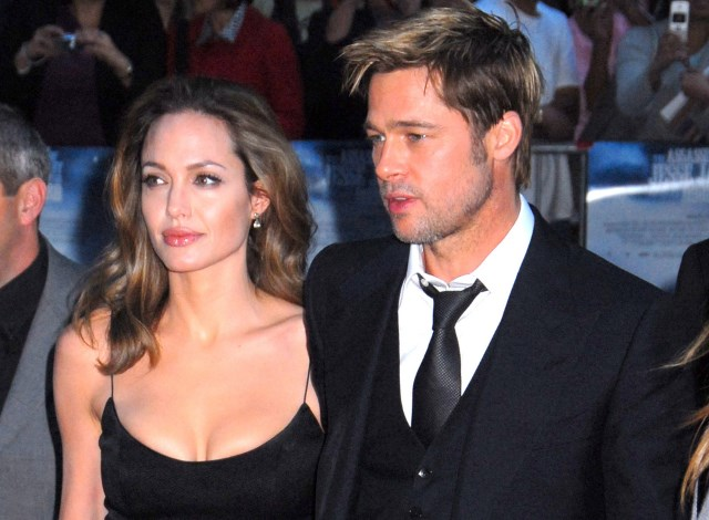 Angelina and brad pitt mr