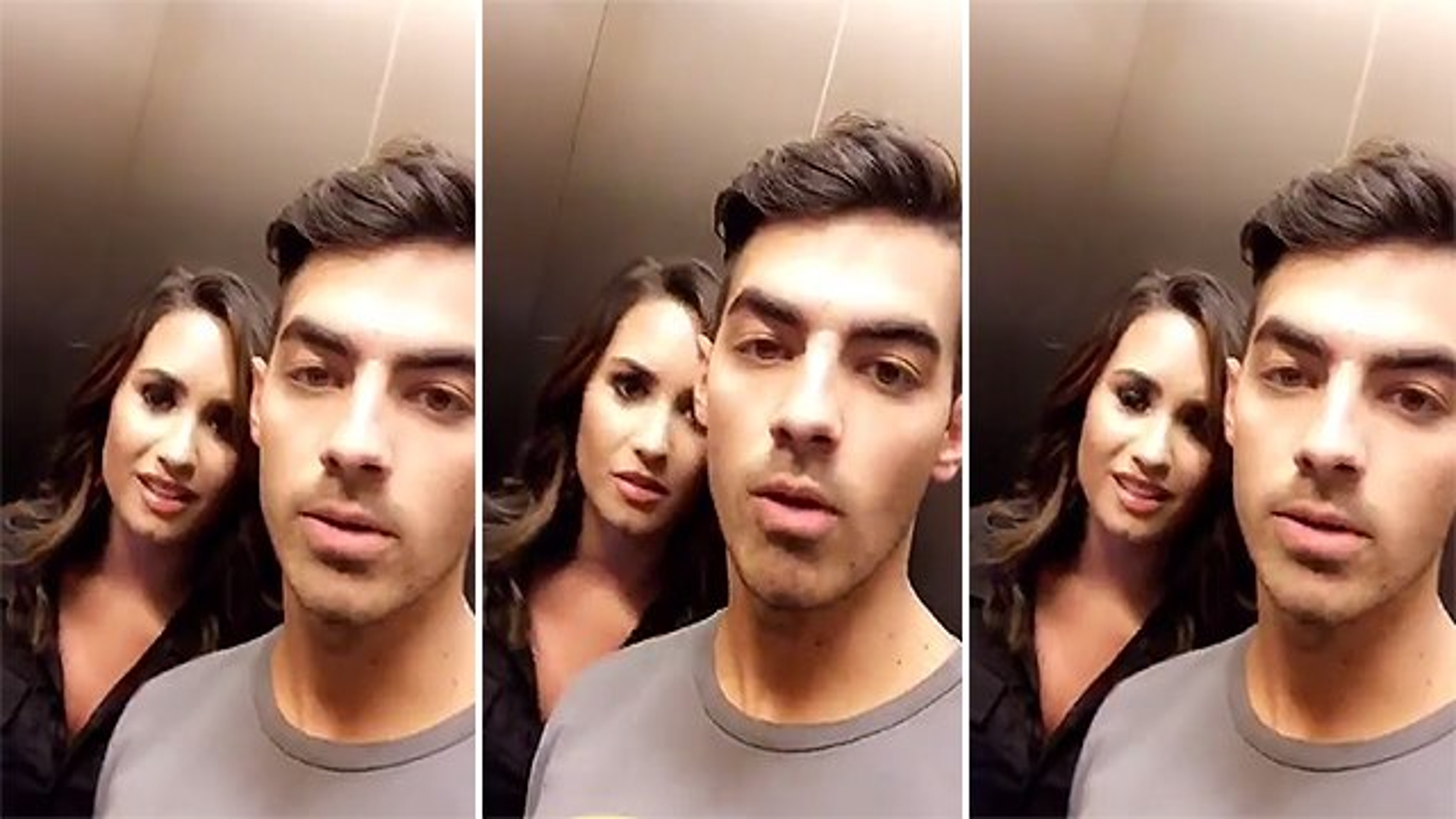 Demi-Lovato-Joe-Jonas-Aufzug