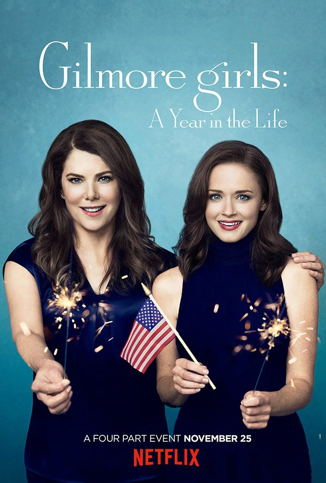 Gilmore-Girls-A-Year-in-the-Life-Poster-Sommer