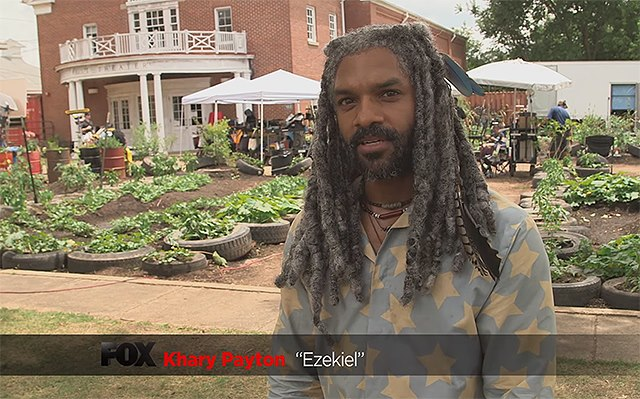 Khary-Payton-Making-Of-The-Walking-Dead