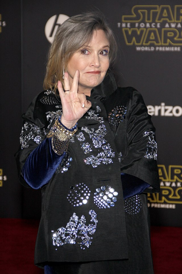 Carrie-Fisher-Star-Wars-The-Force-Awakens-Weltpremiere