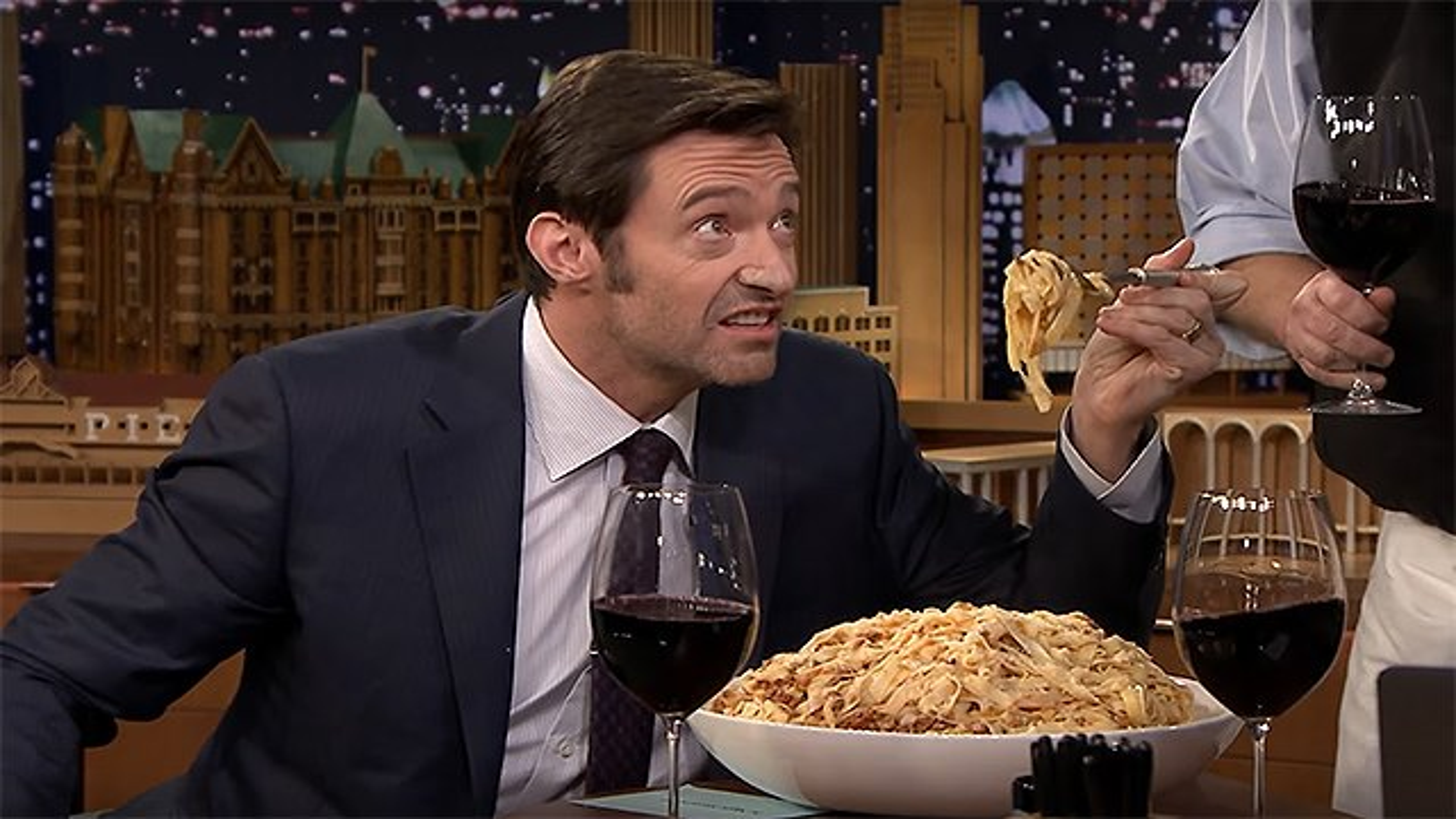 Hugh-Jackman-Pasta-2