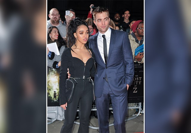 Robert-Pattinson-FKA-Twigs-Lost-City-of-Z-UK-Premiere-5 Bild