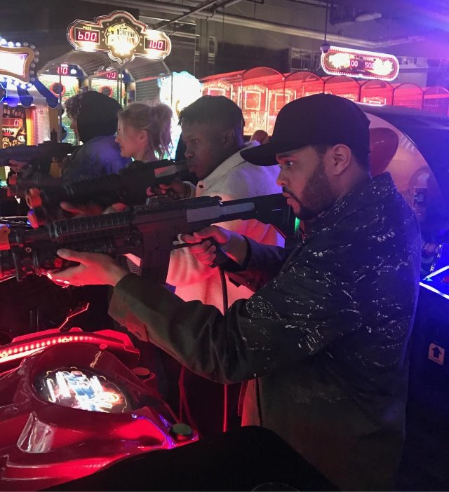 The-Weeknd-Dave-Busters