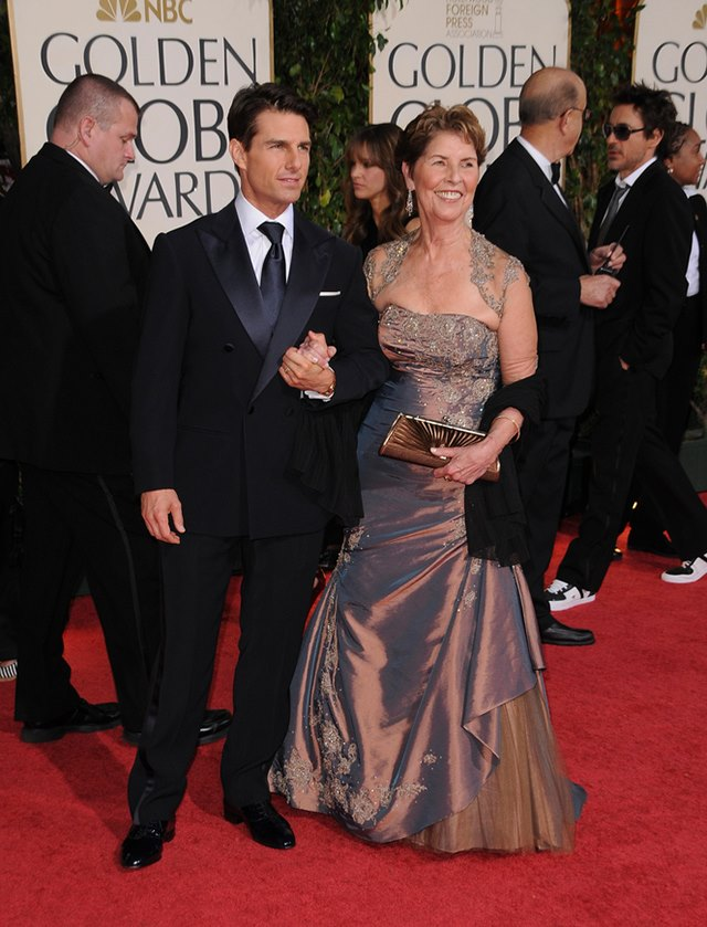 Tom-Cruise-Mutter-Mary-Lee-Mapother Bild