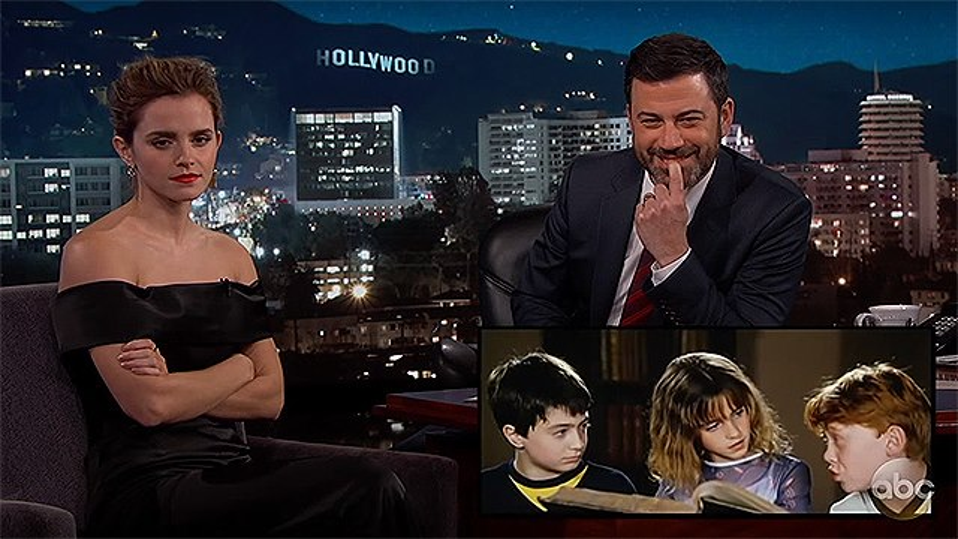 Emma-Watson-Jimmy-Kimmel