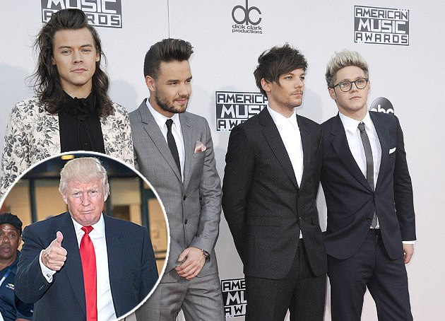 One-Direction-Donald-Trump