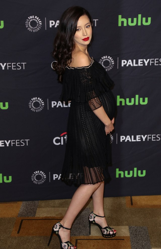 The-Walking-Dead-PaleyFest-Christian-Serratos-2 Bild