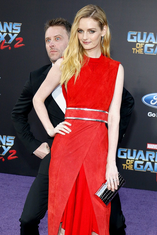Chris-Hardwick-Lydia-Hearst-Guardians-of-the-Galaxy-2-Premiere