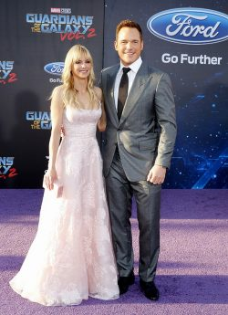 Chris-Pratt-Anna-Faris-Guardians-of-the-Galaxy-2-Premiere-2-250x345