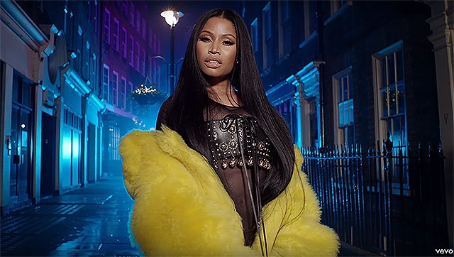 Nicki-Minaj-No-Frauds-Musikvideo