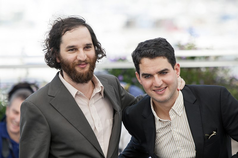 Safdie-brothers-Good-Time-Photocall-Cannes