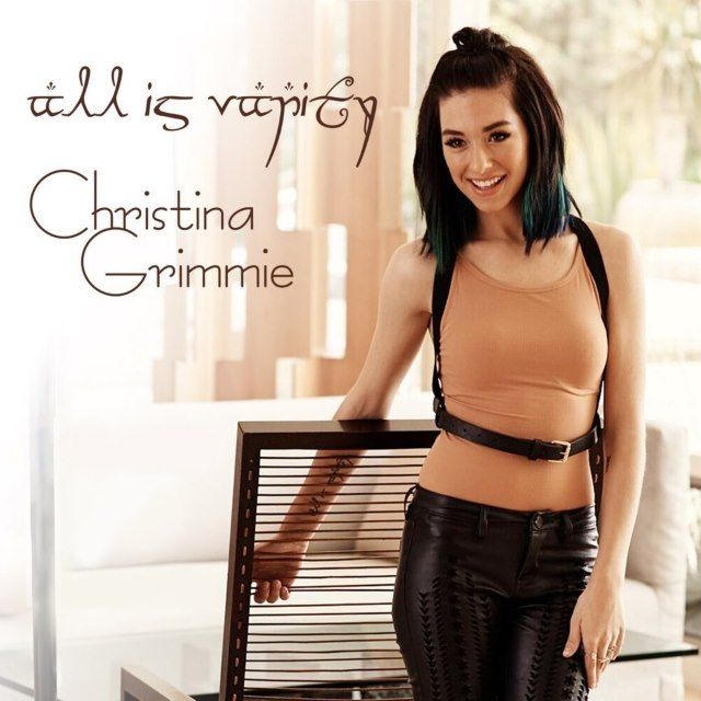 Christina-Grimmie-All-Is-Vanity-Cover