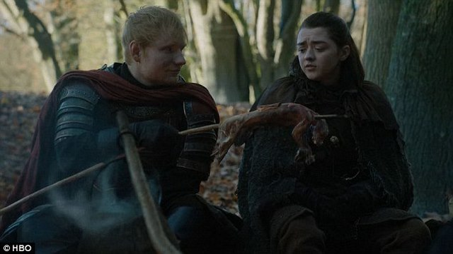 Ed-Sheeran-Maisie-Williams-Game-of-Thrones