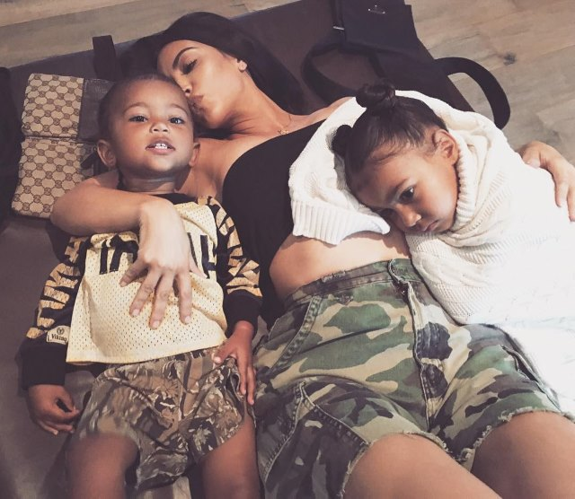 Kim-Kardashian-North-Saint