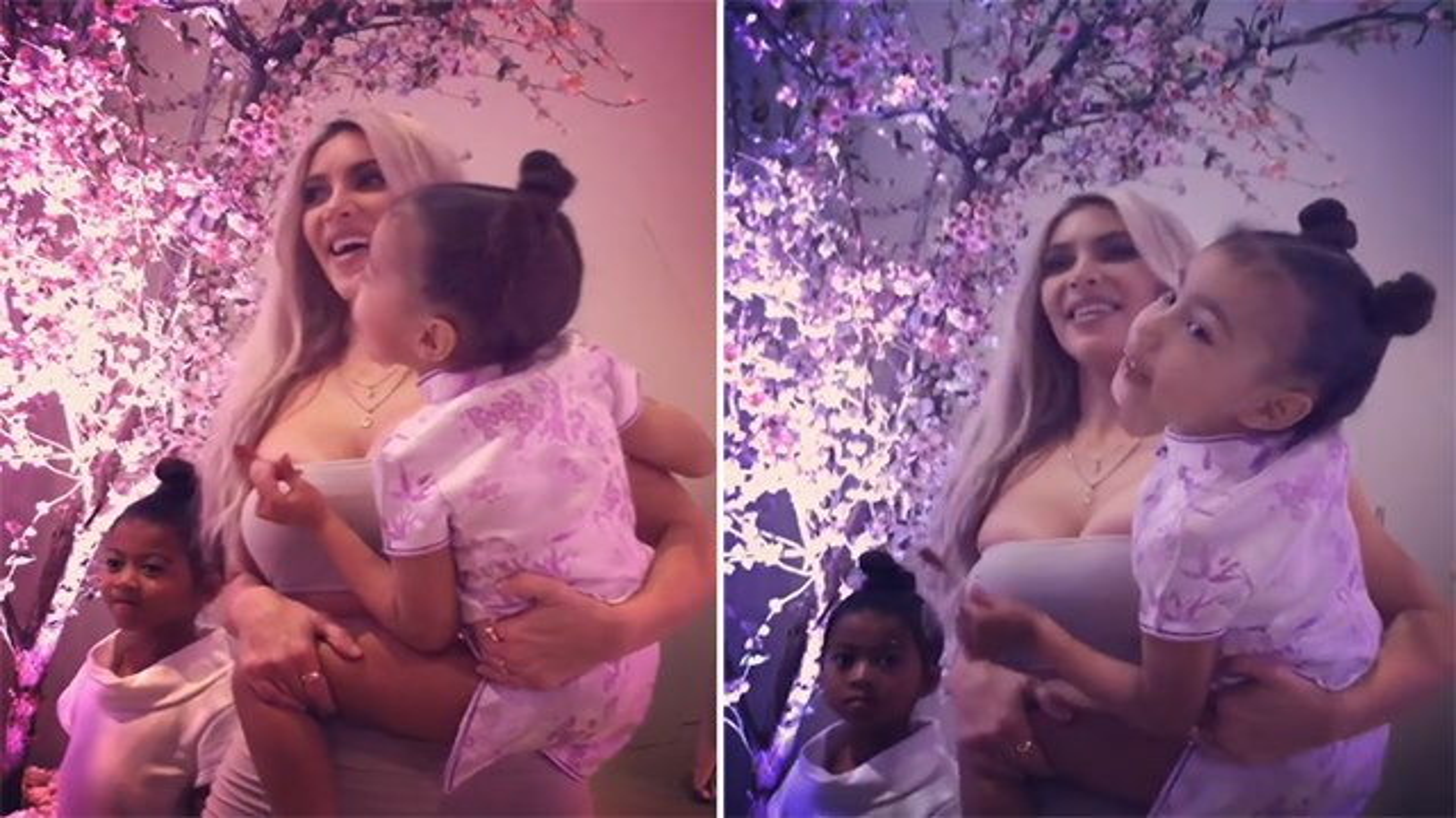 Kim-Kardashian-North-West-Babyparty