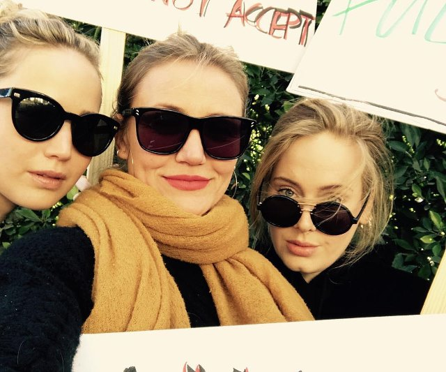 Adele-Jennifer-Lawrence-Cameron-Diaz-Womens-March-2018